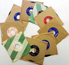 Latin 45s from the 1950s Lot of  9  #624  Bolero Tango Ranchera Guaracha
