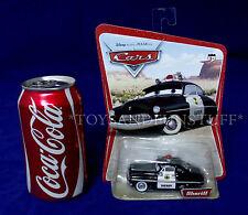 SHERIFF - ORIGINAL DESERT CARD - Disney Pixar CARS - 16 Car Back - 2005 NEW MOC