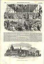 1855 Foundation Stone Of The University Museum Oxford Laid