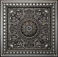 Tin Look D215 PVC Ceiling Tiles 2'x2' Drop In Antique Colors LOT OF 6 Pcs 24 S/F