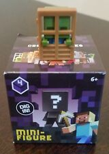 Minecraft Mini-figure Obsidian Series 4 - Zombie at Door Newly Deboxed