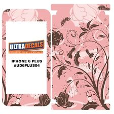 Skin Decal Sticker Wrap 3M Vinyl For Apple iPhone 6/6S Plus - Peach Flowers