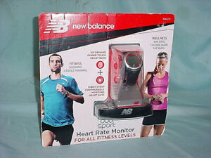New Balance Duo Sport Chronograph Heart Rate Monitor Sport Watch w/Strap 50116NB