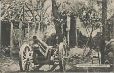 1. Weltkrieg, 15 cm Haubitze in Feuerstellung, Geschütz, Artillerie, Kanone