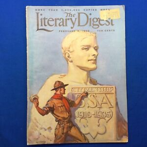 Boy Scout The Liberty Digest February 1935 Full Issue With Boy Scout Cover