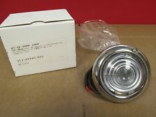 1947-48 FORD PARKING LIGHT ASSEMBLY WITH GLASS LENS NEW 115