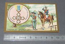 CHROMO GUERIN-BOUTRON 1905-1914 DECORATIONS ITALIE ORDRE MILITAIRE DE ST-LOUIS