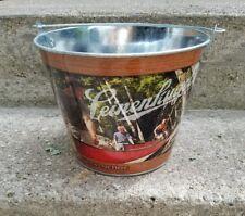 Leinenkugel Metal Beer Bucket Tin Join Us Out Here