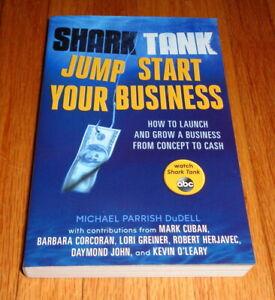 New Shark Tank Jump Start Your Business Book DuDell Cuban Corcoran Greiner