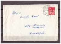 BRD, MiNr. 508 Barsinghausen nach Aurich 14.08.1967