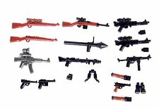 German Weapons WW2 Army Pack (P2)Compatible With Toy Brick Minifigures Wehrmacht