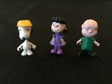 SNOOPY VINTAGE CHARACTERS X3 PIECES