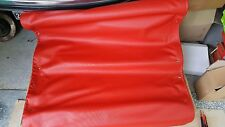 CITROEN DYANE CAPOTE NUOVA ROSSO VALLELUNGA RED ROUGE HOOD SOFT TOP ROOF