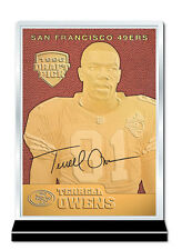 1996 TERRELL OWENS Feel The Game 23K GOLD Rookie Card