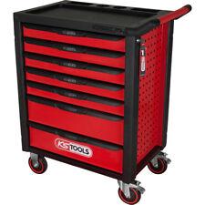 KS Tools RACINGline SCHWARZ/ROT Werkstattwagen mit 7 Schubladen #826.0007