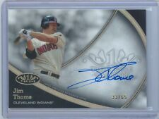2020 TOPPS TIER ONE JIM THOME AUTO CARD #'d 33/65