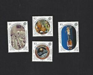 Seychelles Z.E.S. sc#154-7 (1989) Complete MNH