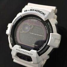 Mens Casio G Shock Watch White GR-8900A Digital Solar World Time Genuine