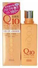 KOSE Kose vital age Q10 lotion 180ml / Japan import