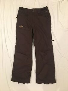 The North Face Women's Size S (No Tag) HyVent Snowboard Ski Pants Brown