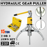 15T Hydraulic Bearing Gear Puller Wheel With Box 50mm Ares Travel Integral Type