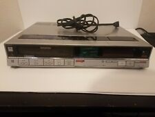 Sony Betamax SL-20 VCR Beta Tape Player Video Cassette Recorder - UNTESTED