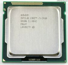 Intel Core i5-2400 - 3.1GHz Quad-Core (With Cooler)