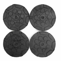 120MM 4Pcs Black Heavy Duty Round Rubber Arm Pads for Car Lift Accessories