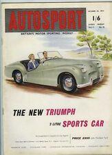 Autosport 30th 1953 de octubre * el rally Lisboa 7th *