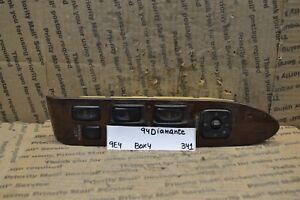 94-96 Mitsubishi Diamante Master Switch MR714314 Door Window Lock Box 4 341-9E4