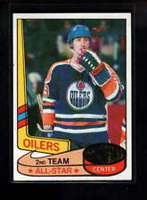 1980-81 TOPPS #87 WAYNE GRETZKY ALL STAR NM F1118