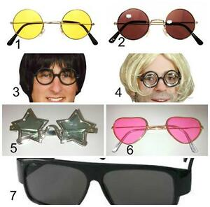 Fun Specs Glasses Nerd, Harry, Hippy, Lennon, Star, Blues
