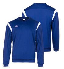 Umbro Mens Training Sweatshirt Football Sweat Sweater Jumper Pullover Top Navy
