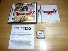 Nintendo DS Game - Dragon Quest IV 4: Chapters of the Chosen (Complete & Mint!)