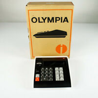 Olympia Rechenmaschine CD 102 Neuwertig NOS OVP Top