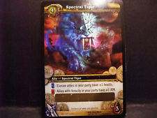 World of Warcraft WOW TCG SPECTRAL TIGER Unscratched Loot Card — EPIC AND SWIFT