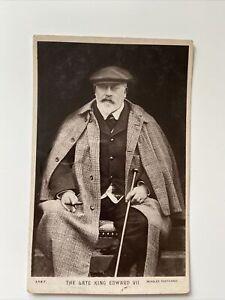 The Late King Edward Vll.  Postcard
