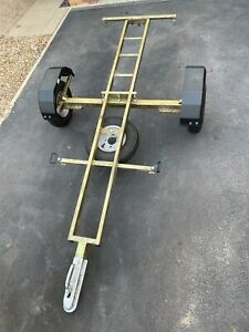 Dave Cooper Collapsible Motorcycle Trailer - Great Condition