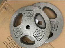 CAP 25Lb Standard 1 inch Grip Plates- ( sold as 50Lb pairs)