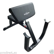 Muscle Motion Preacher Curl Bench for gym fitness training