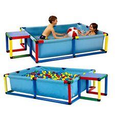 Moveandstic POOL Kinderpool Kinder Babypool Planschbecken Klettergerüst Bällebad