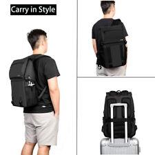 "DTBG 17.3"" Laptop Backpack Travel Business School Daypack Waterproof W/ USB Port"