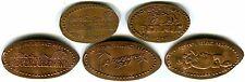 Adventureland Altoona Iowa Set Of 3 Copper Pressed Pennies + Two Retired Coins
