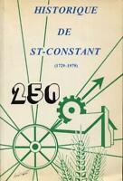 Historique de St-Constant 1729-1979 250e Anniversaire
