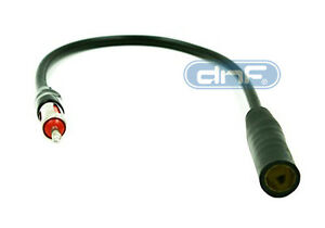 """1 FEET 12"""" CAR RADIO ANTENNA EXTENSION CORD MALE FEMALE ADAPTER CABLE"""