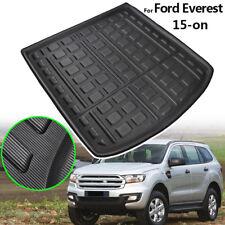 For Ford Everest 2015-2019 Boot Cargo liner Tray Trunk Floor Mat Carpet