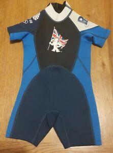 Team GB Kids Wetsuit Age 3-4
