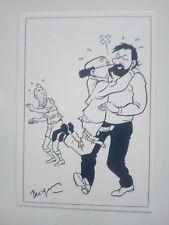 LA VIE SEXUELLE DE TINTIN par Jan Bucquoy - Cartes Postales