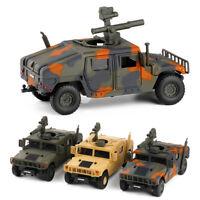 1/32 Scale HMMWV M1046 Humvee Military Vehicle Model Car Diecast Toy Sound Kids