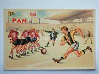 CALCIO Football umoristica AK old postcard vecchia cartolina 3